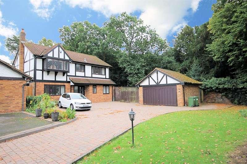 4 Bedrooms Detached House for sale in Belvoir, Dosthill, Tamworth, B77 1JJ