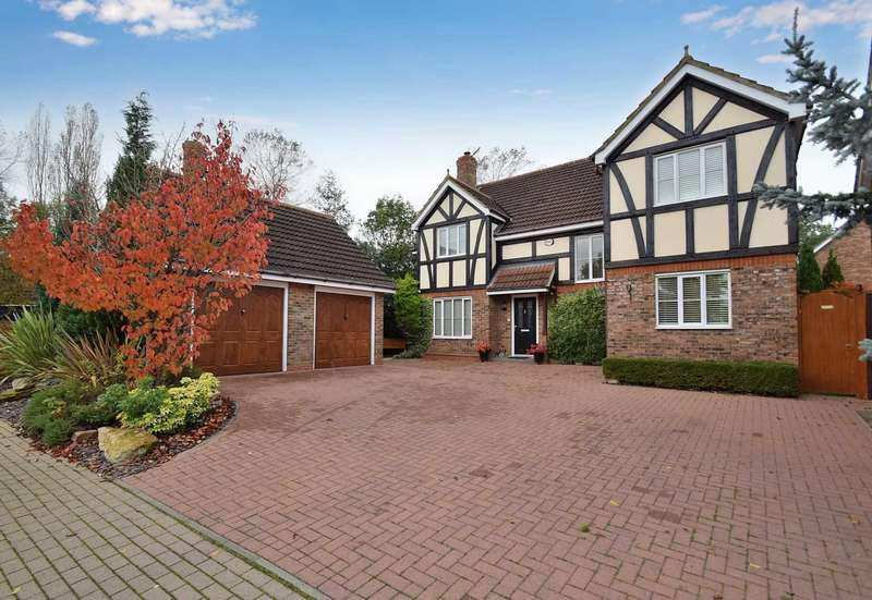 4 Bedrooms Detached House for sale in Langney Green, Tattenhoe