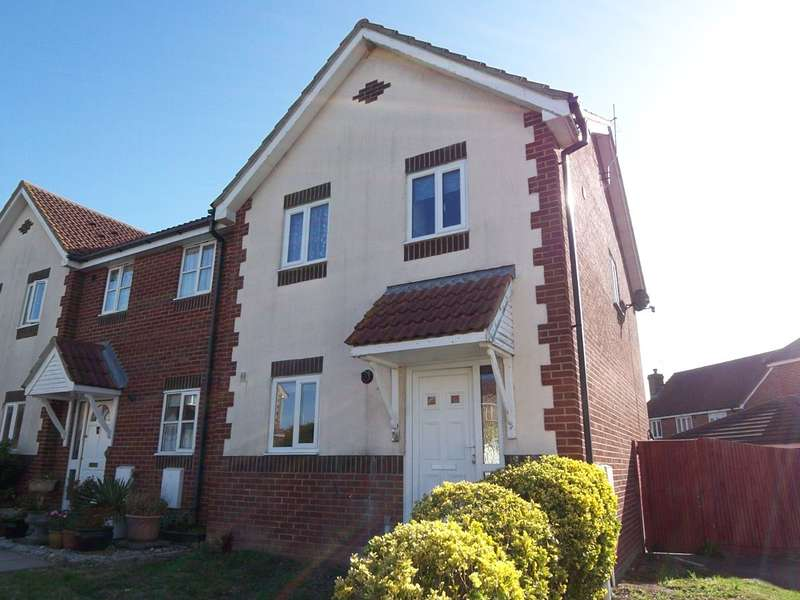 3 Bedrooms End Of Terrace House for rent in Catsfield Close, Eastbourne