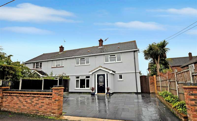 4 Bedrooms Semi Detached House for sale in Vernon Avenue, Rayleigh