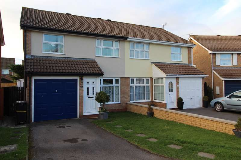 3 Bedrooms Semi Detached House for sale in Smythe Croft, Whitchurch, BS14 0UB