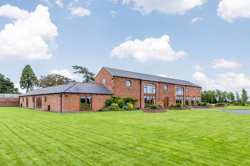 4 Bedrooms Detached House for sale in Marston Lane, Marston, Stafford, ST18 9SY