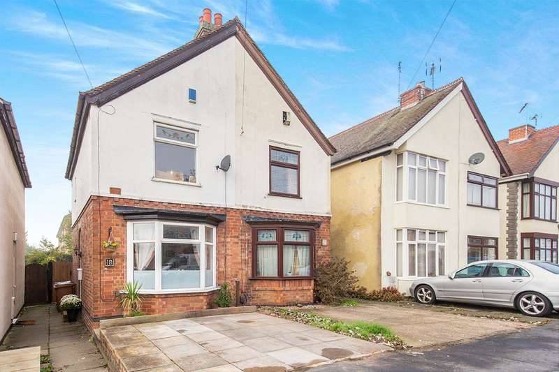 2 Bedrooms Semi Detached House for sale in Northfield Road, Hinckley, Leicestershire, LE10