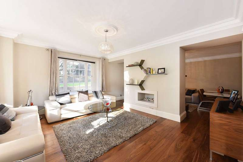 4 Bedrooms Flat for sale in St Stephens Close, London, NW8