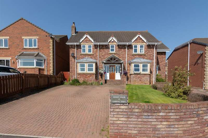 5 Bedrooms Detached House for sale in Ambrose Court, Stanley, DH9 8GA