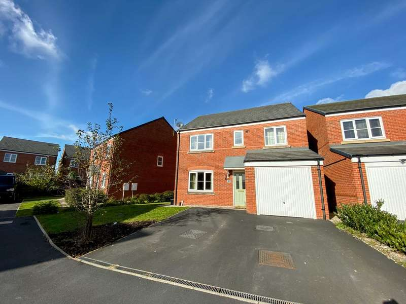 4 Bedrooms Detached House for sale in Garston Crescent, Newton Le Willows