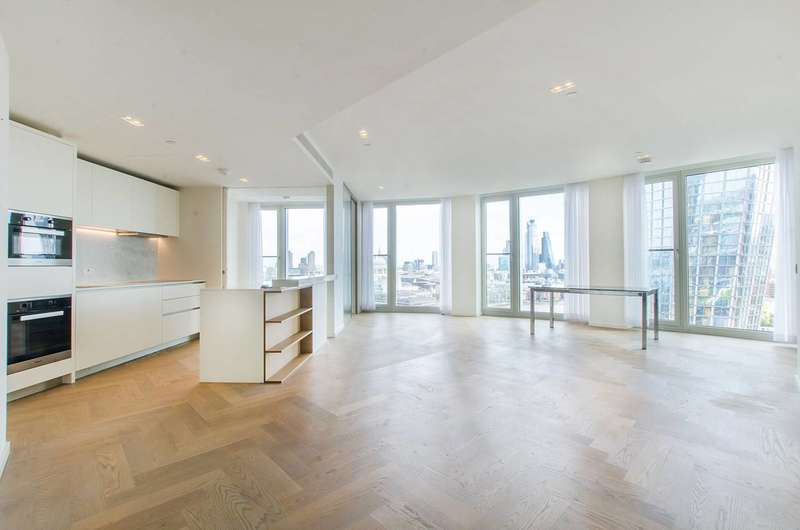 2 Bedrooms Flat for sale in South Bank Tower, Upper Ground, London Bridge, SE1