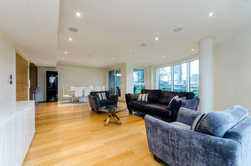 3 Bedrooms Flat for sale in Banyan House, Imperial Wharf, SW6