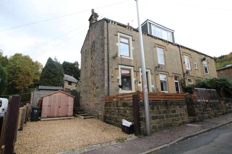 2 Bedrooms End Of Terrace House for sale in Willow Bank, Todmorden, West Yorkshire, OL14