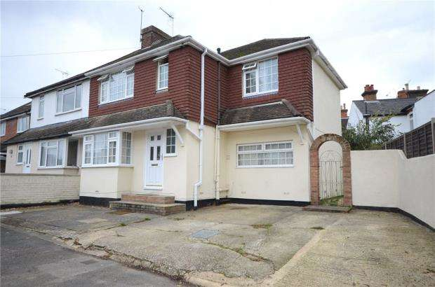 5 Bedrooms Semi Detached House for sale in Highland Road, Aldershot, Hampshire