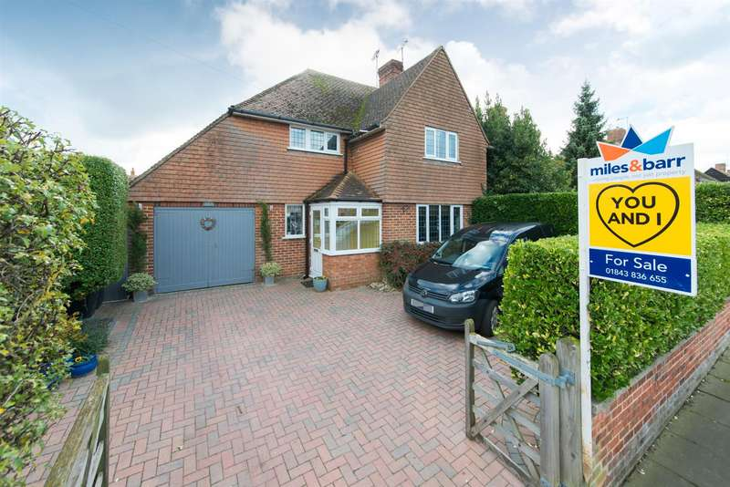 3 Bedrooms Semi Detached House for sale in Canterbury Road, Westgate-On-Sea