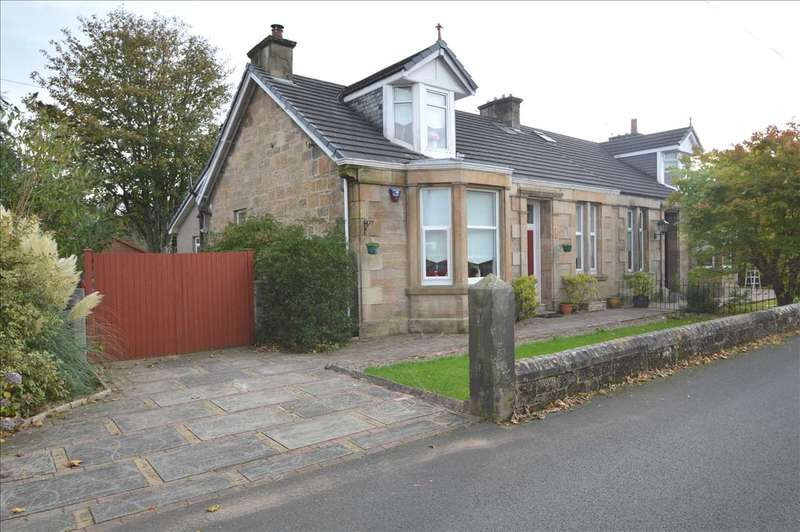 3 Bedrooms Semi Detached House for sale in Cadzow Street, Larkhall