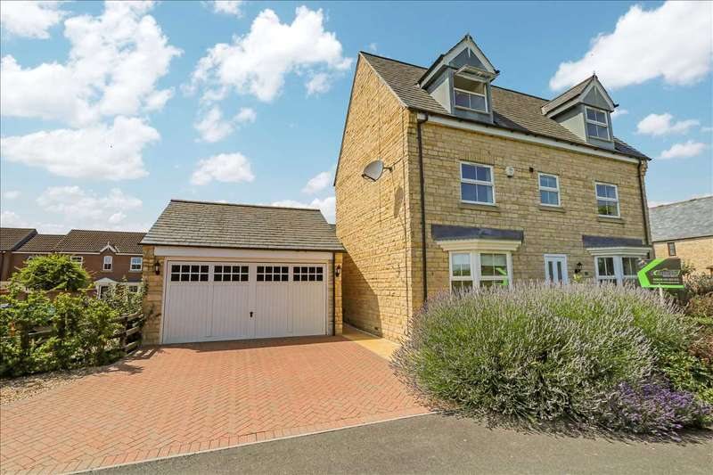 6 Bedrooms Detached House for sale in Cedar House, Barn Owl Way, Washingborough, Lincoln