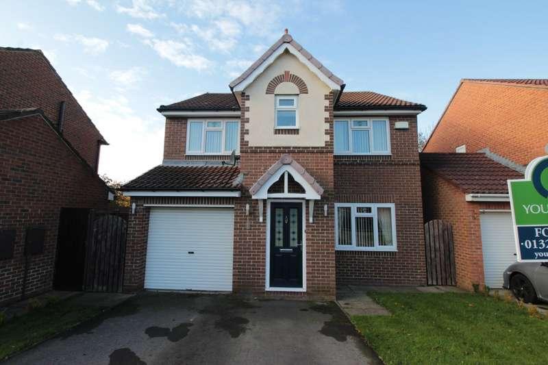 4 Bedrooms Detached House for sale in Didcot Close, Faverdale, Darlington, Durham, DL3