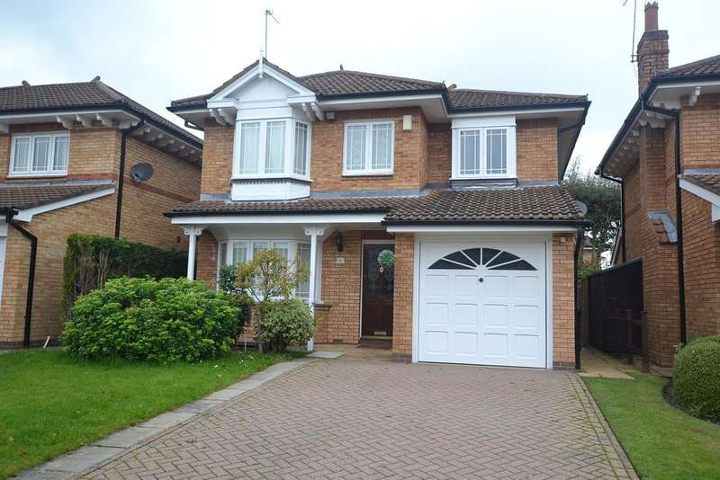 4 Bedrooms Detached House for rent in Lutyens Close, Macclesfield, Cheshire