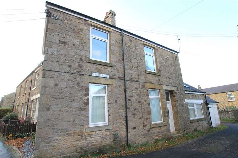 4 Bedrooms End Of Terrace House for sale in Manor Road, Consett, County Durham, DH8