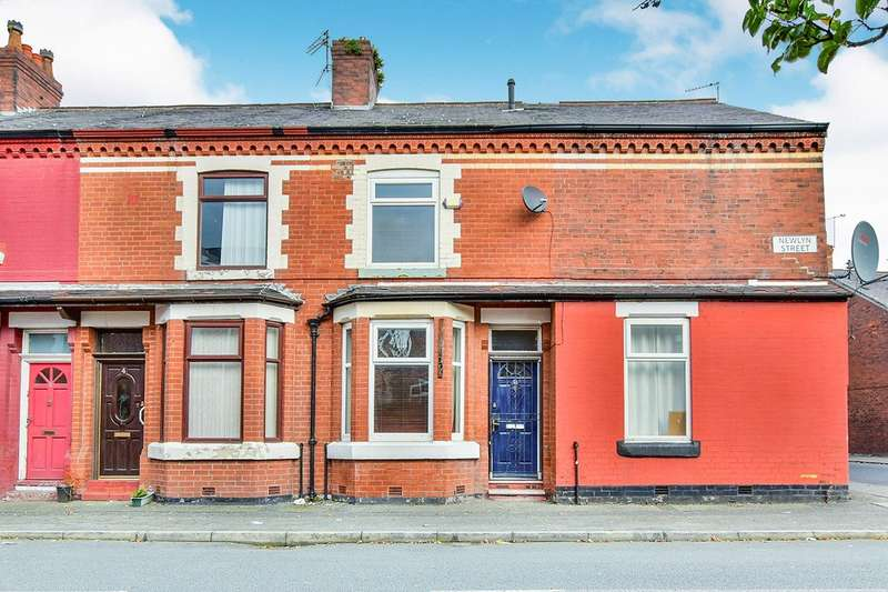 2 Bedrooms End Of Terrace House for sale in Newlyn Street, Fallowfield, Manchester, M14