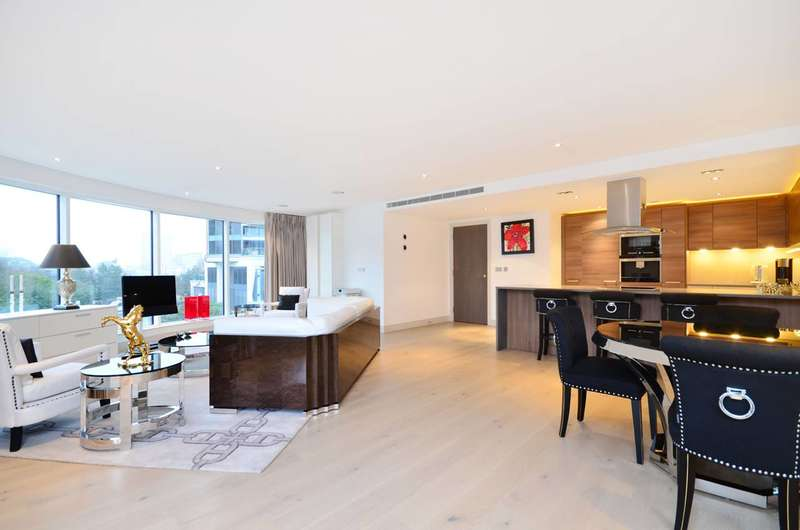 2 Bedrooms Flat for sale in Octavia House, Imperial Wharf, SW6