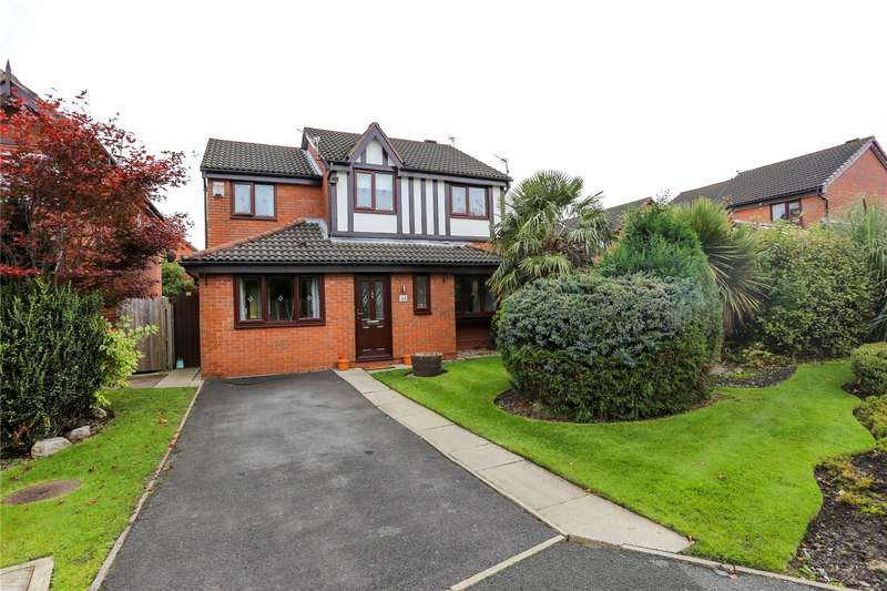4 Bedrooms Detached House for sale in Tynedale Close, South Reddish, Stockport, SK5
