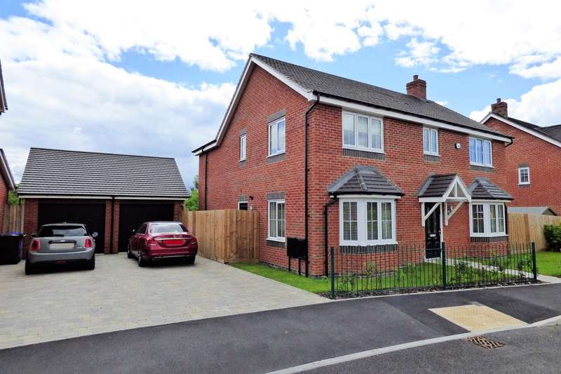 4 Bedrooms Detached House for sale in St. Peters Way, Yoxall
