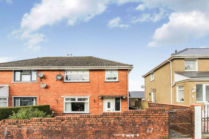 3 Bedrooms Semi Detached House for sale in Beaufort Close, Sirhowy, Tredegar, NP22