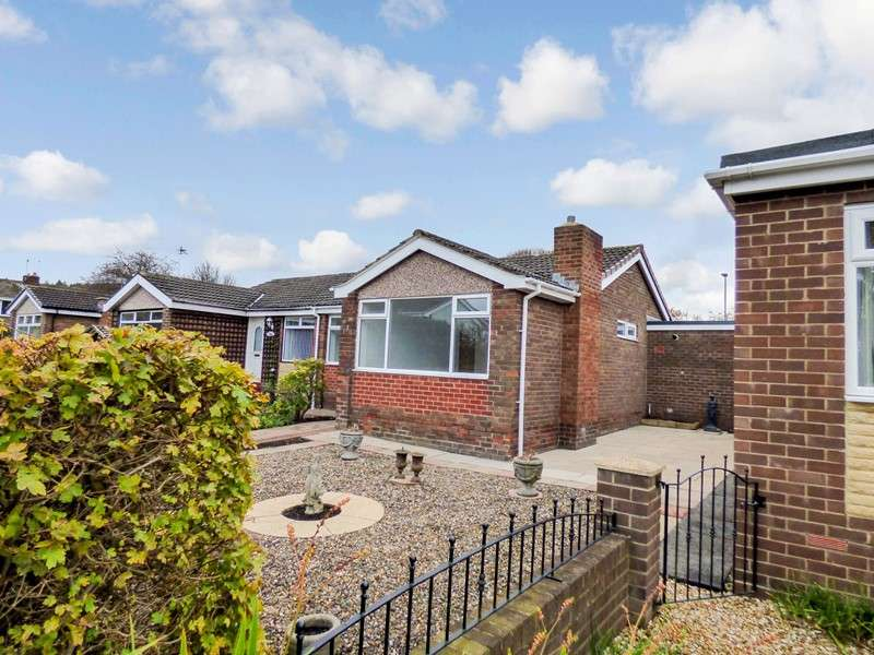 2 Bedrooms Bungalow for sale in Bryans Leap, Burnopfield, Newcastle upon Tyne, Durham, NE16 6BW