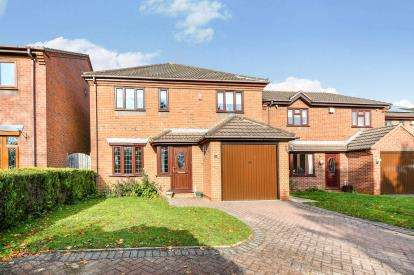 4 Bedrooms Detached House for sale in Norton Lane, Burntwood, Staffordshire
