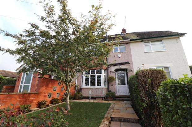 3 Bedrooms Terraced House for sale in Brookside, Stretton on Dunsmore, Rugby, Warwickshire