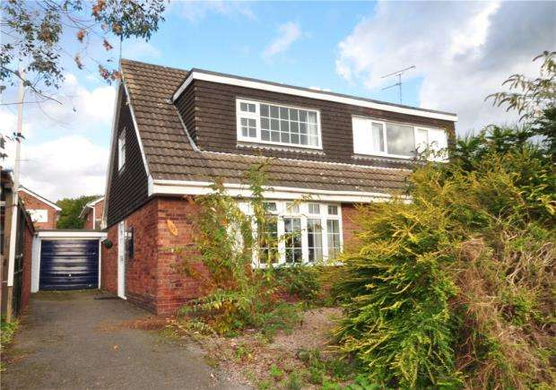 3 Bedrooms Semi Detached House for sale in Bridgewater Drive, Vicars Cross, Chester