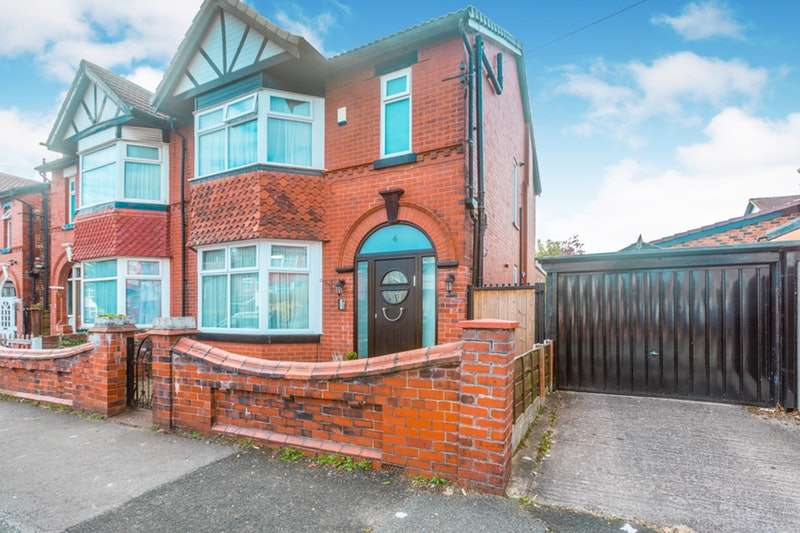 6 Bedrooms Semi Detached House for sale in Wilton Avenue, Manchester, Greater Manchester, M25