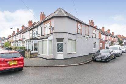 3 Bedrooms End Of Terrace House for sale in Geoffrey Road, Sparkhill, Birmingham, West Midlands