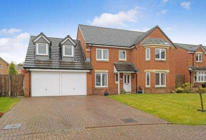 5 Bedrooms Detached House for sale in Petty Court, Jackton