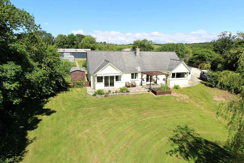 4 Bedrooms Detached Bungalow for sale in St. Giles-on-the-heath, Launceston