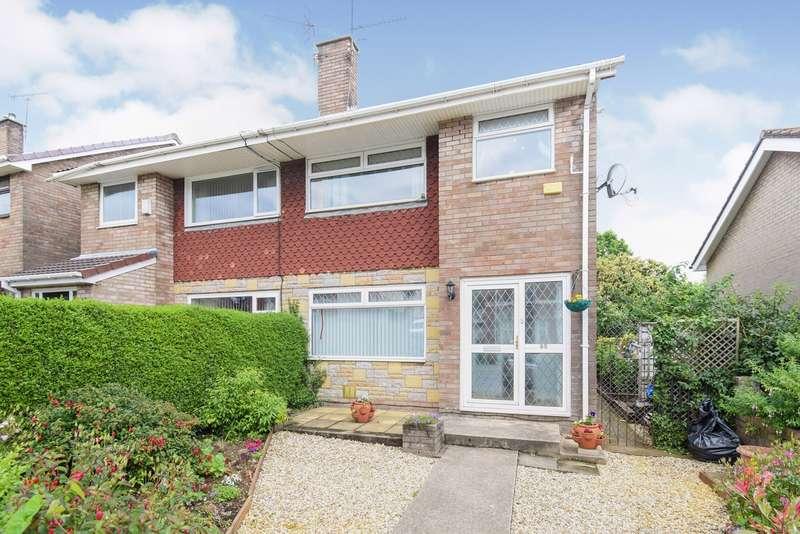 3 Bedrooms Semi Detached House for sale in Greenhill Road, Sebastopol, Pontypool, NP4
