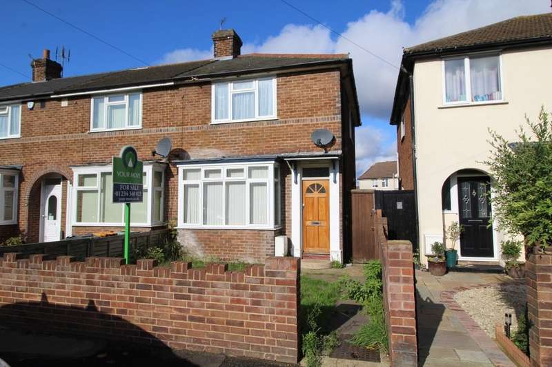 2 Bedrooms End Of Terrace House for sale in Acacia Road, Bedford, Bedfordshire, MK42