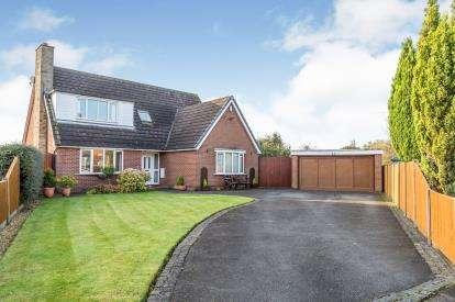 3 Bedrooms Detached House for sale in Cheshire House Close, Farington Moss, Leyland, Lancashire, PR26