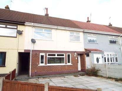 3 Bedrooms Terraced House for sale in Barnes Close, Halton View, Widnes, Cheshire, WA8