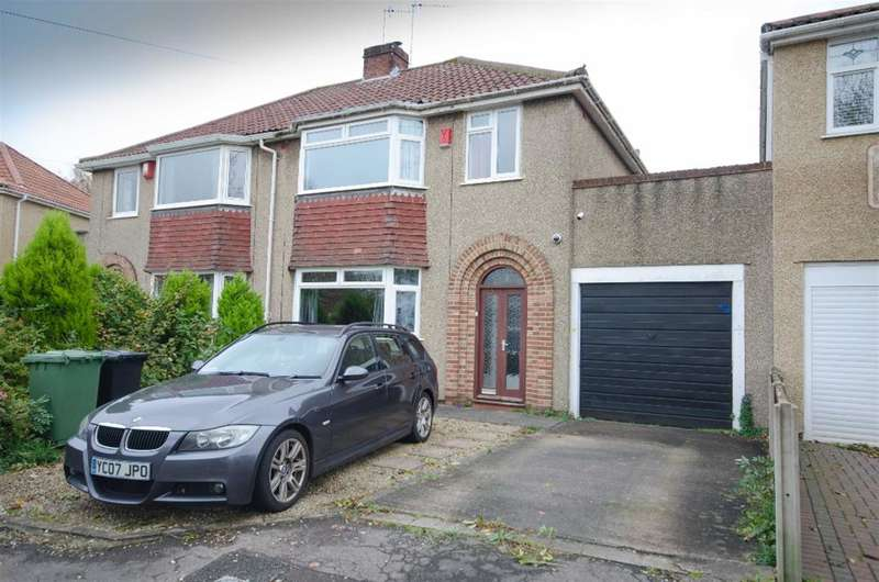 3 Bedrooms Semi Detached House for sale in Bromley Heath Road, Downend, BS16 6JT