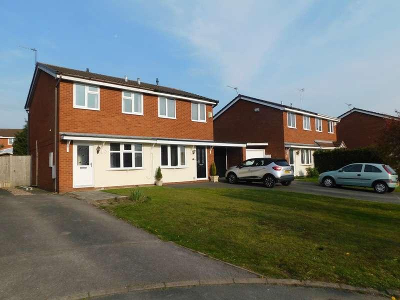 2 Bedrooms Semi Detached House for rent in Cromer Drive, Crewe