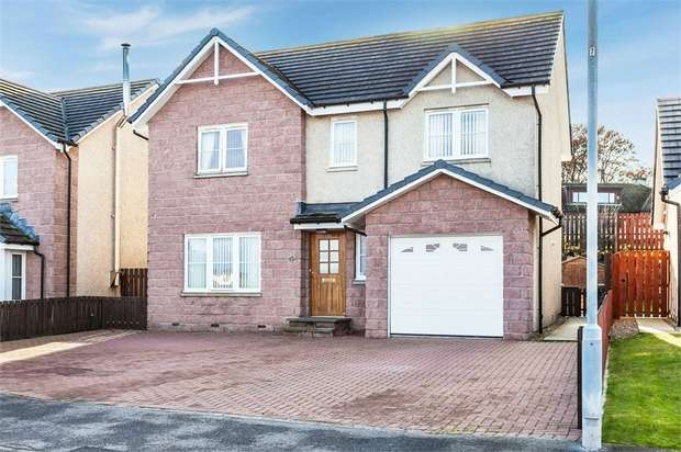 4 Bedrooms Detached House for sale in Fife Avenue, Keith, Moray