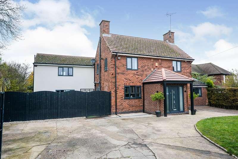 5 Bedrooms Detached House for sale in Chesterfield Road, Tibshelf, Alfreton, Derbyshire, DE55