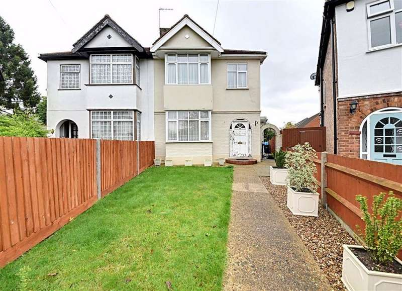 3 Bedrooms Semi Detached House for sale in Devonshire Crescent, Mill Hill, London, NW7