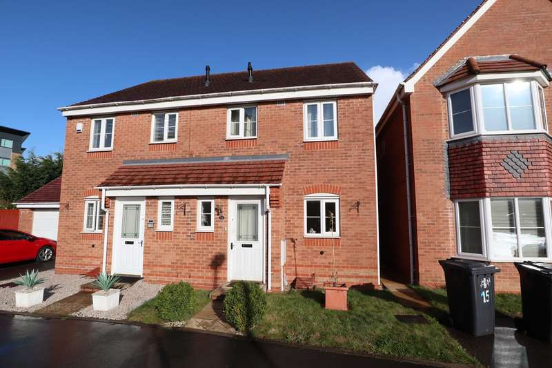 3 Bedrooms Semi Detached House for sale in Knights Road, Nuneaton, CV10