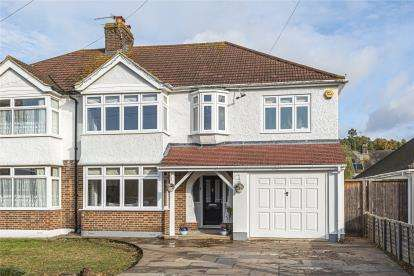 4 Bedrooms Semi Detached House for sale in Gates Green Road, West Wickham