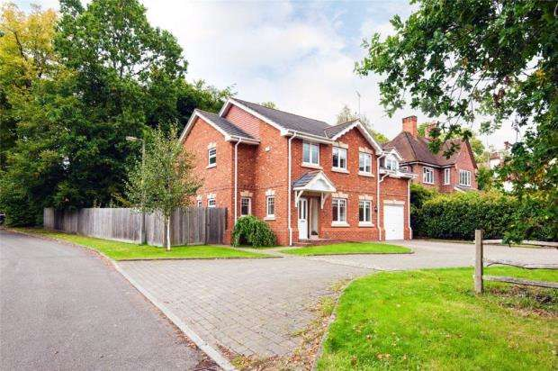 4 Bedrooms Detached House for sale in Blake Close, Crowthorne, Berkshire
