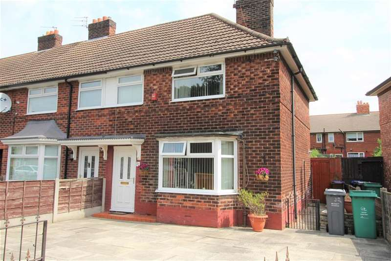 3 Bedrooms Semi Detached House for rent in Woodend Road, Manchester, M22 9XE