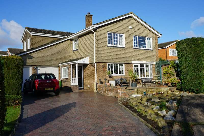 4 Bedrooms Detached House for sale in Nursery Gardens, Bedford