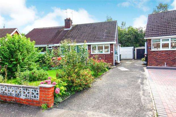 2 Bedrooms Semi Detached Bungalow for sale in Offa Drive, Kenilworth, Warwickshire