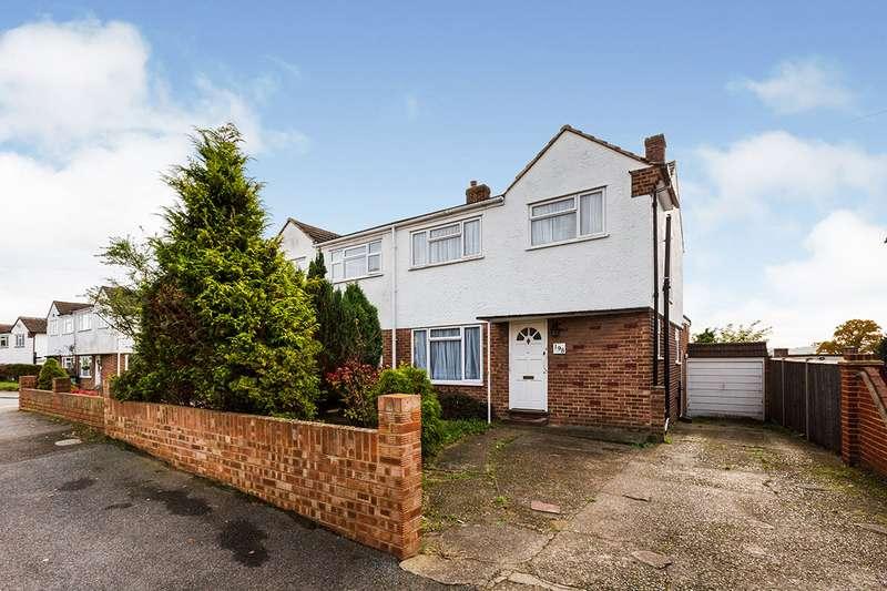 4 Bedrooms Semi Detached House for sale in Coombfield Drive, Dartford, Kent, DA2