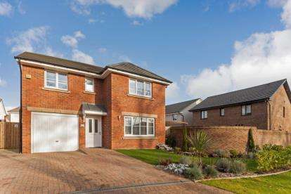 4 Bedrooms Detached House for sale in Roundhouse Circle, Renfrew, Renfrewshire